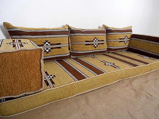 Amazon.com: traditional oriental floor seating,floor sofa,arabic ...