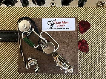 Amazon.com: Fender Telecaster Prebuilt Wiring Harness Kit .047uf PIO on tele mirrors, tele bass, tele body,