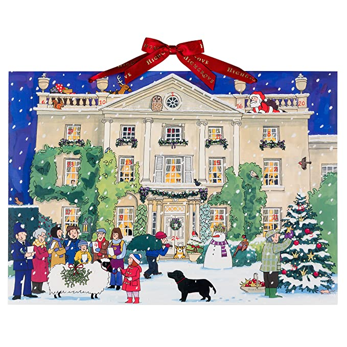 "1 opinioni per Alison Gardiner, calendario dell'avvento ""Highgrove House at Christmas"", formato"