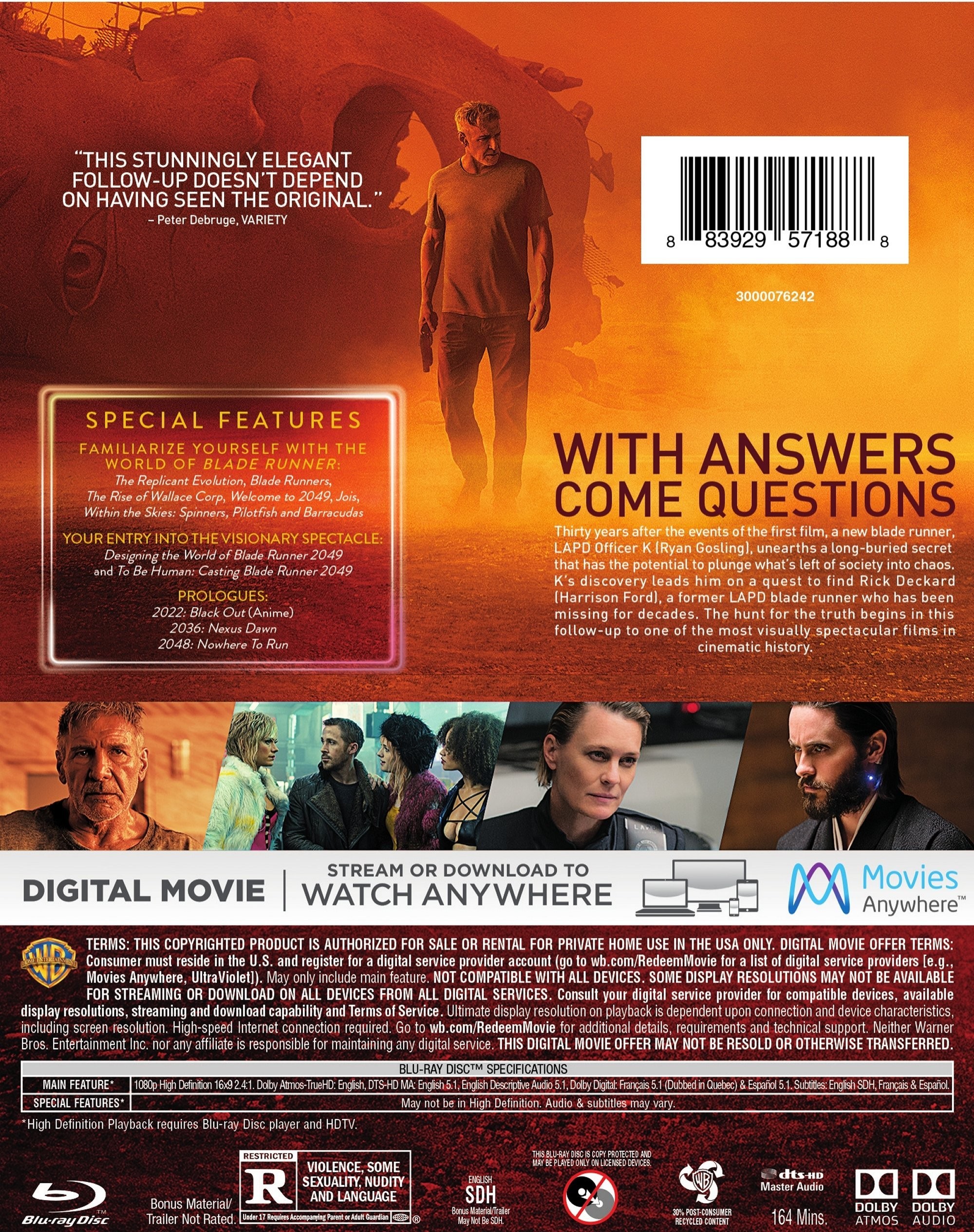 Blade Runner 2049 Page 3 Blu Ray Forum