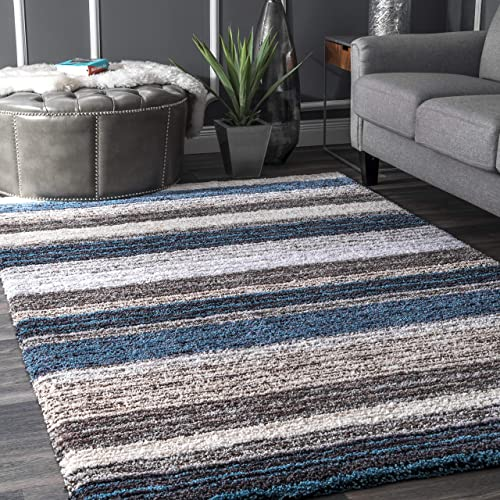 nuLOOM Classie Hand Tufted Shag Runner Rug