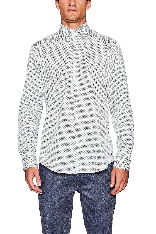 TALLA 41 (Talla del fabricante: 41-42). ESPRIT Collection 107eo2f006 - Camisa Hombre