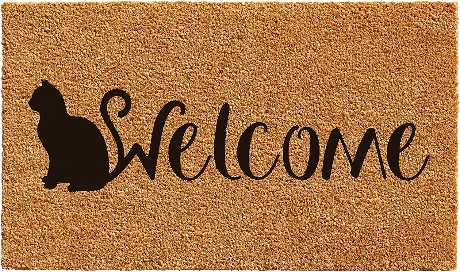 Home & More 102161729 Feline Welcome Doormat
