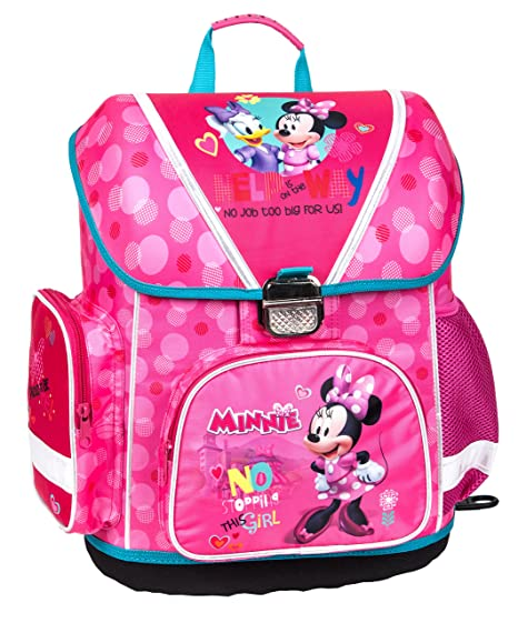 Escolares. Minnie Mouse Mochila Escolar Freundin de Mickey Ratón DML de 520