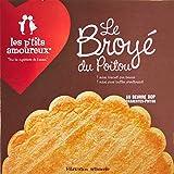 Les P'tits Amoureux Biscuit au Beurre Broye du Poitou Classique Maxi 1 Biscuit 220 g