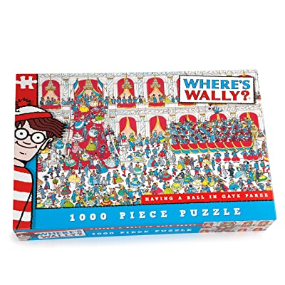 Where's Wally - Having a Ball in Gaye Paree - 1000 piece puzzle: Toys & Games