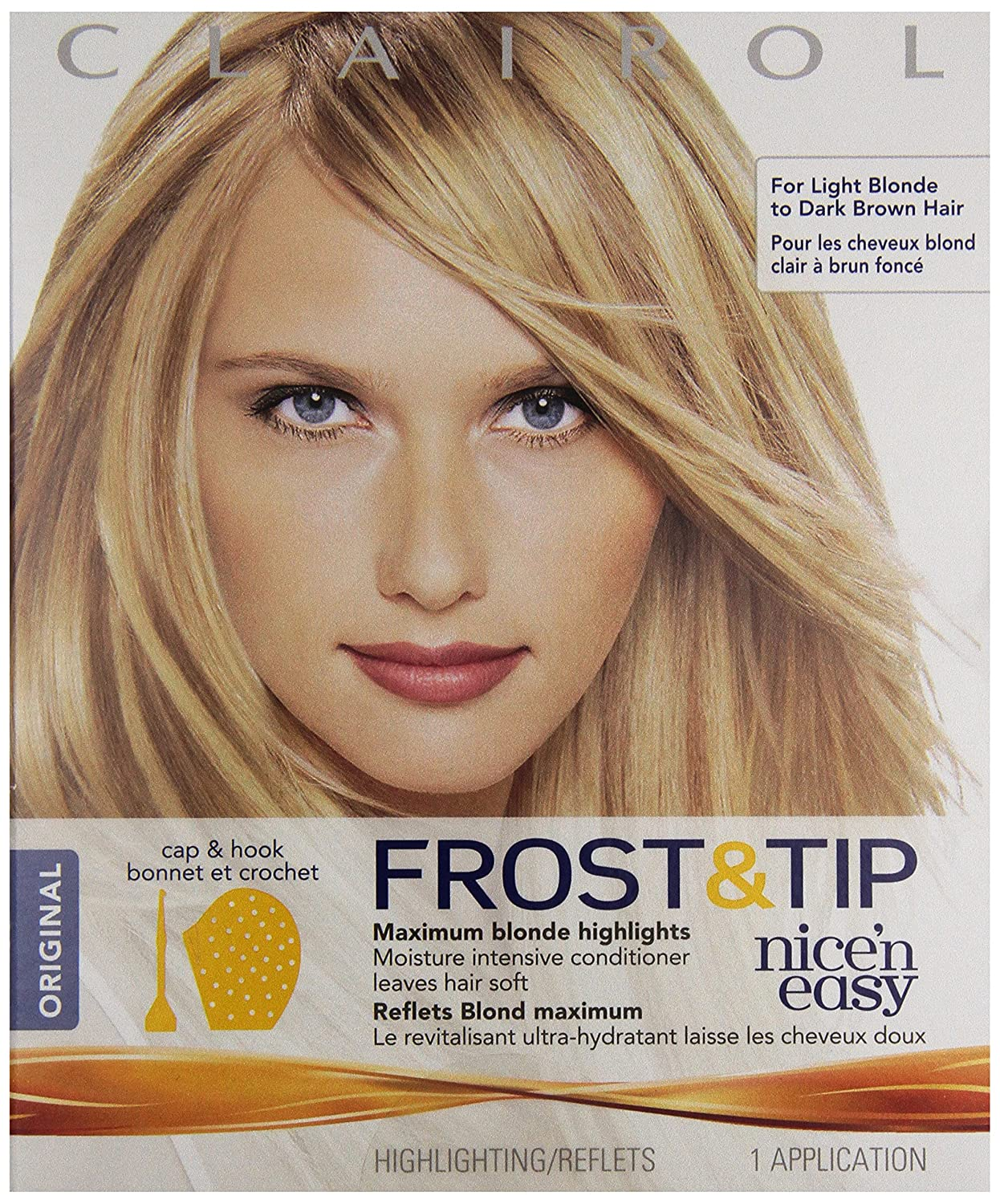 Clairol Nice N Easy Frost Tip Hair Highlights Original 1 Kit