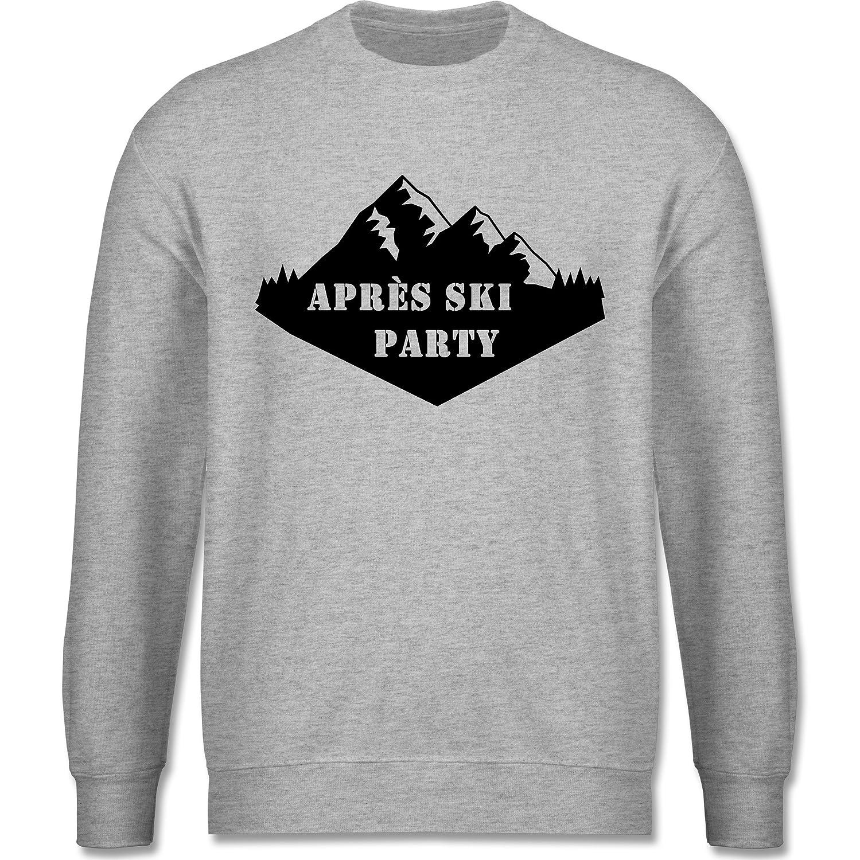 Après Ski - Apres Ski Party - schlichter Herren Pullover