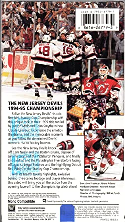 Amazon.com  heaven the new jersey devils 1994-95 champion season ... 815029670