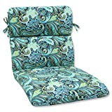 Pillow Perfect Outdoor Pretty Paisley Rounded