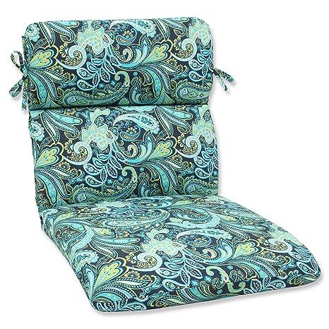 Amazon.com: Pillow Perfect Almohada para silla con esquinas ...