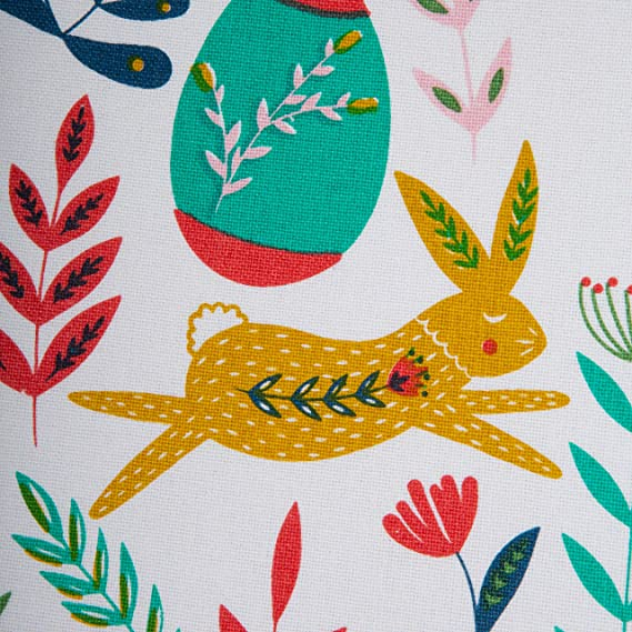 Amazon Com Dii Easter Folk Garden Kitchen Textiles Table Runner 14x72 Home Kitchen