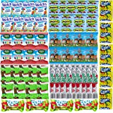Assorted Candy Variety Pack - Bulk Fruit Snacks for Kids - Includes Gushers, Fruit Roll Up, Fruit By the Foot, Welch's, Mott's, Scooby Doo, Black Forest and Paw Patrol (60 Count)
