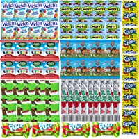 Assorted Candy Variety Pack - Bulk Fruit Snacks for Kids - Halloween Candy Includes Gushers, Fruit Roll Up, Fruit By the…