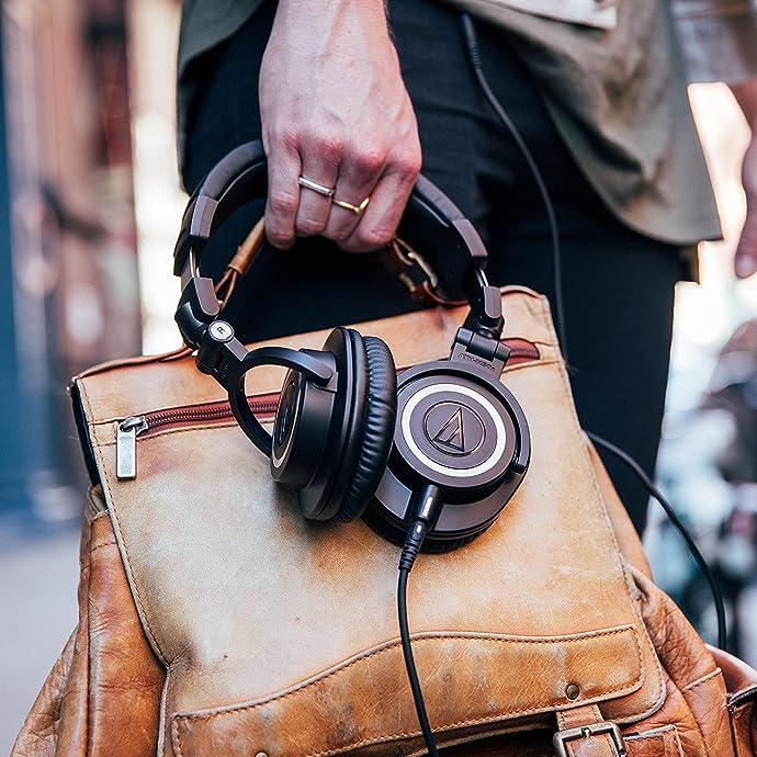 Audio-technica 铁三角 ATH-M50X 头戴式 全封闭监听耳机 HIFI耳机 $129 海淘转运到手约¥938