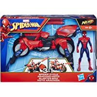 Marvel Spiderman Vehicule 3 en 1 avec Figurine, E0593