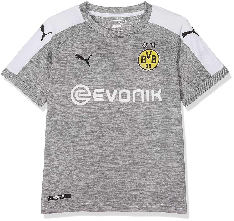 Puma Jungen BVB Kids 3rd Replica Shirt Withsponsor Logo T
