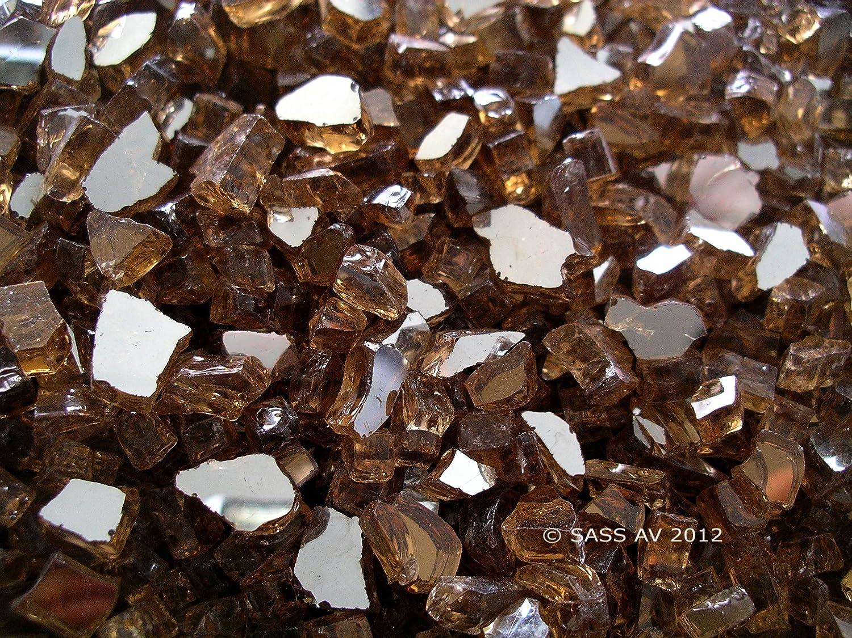 amazon com fireglass fireplace fire pit glass 1 4