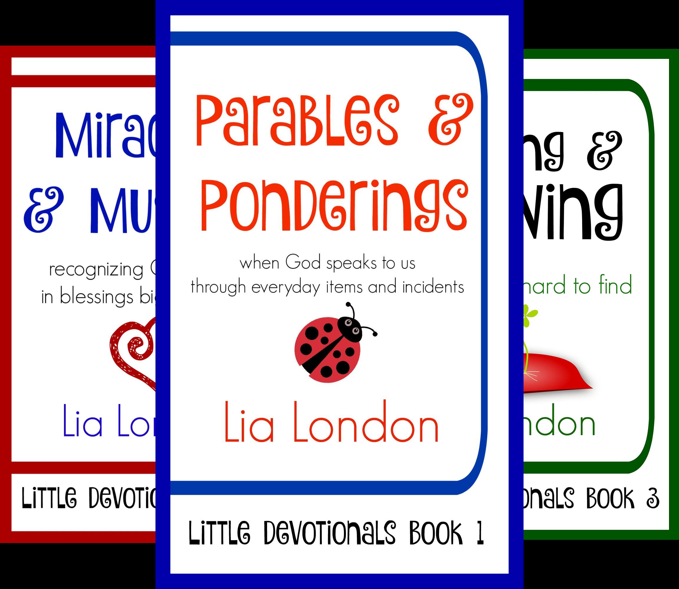 Little Devotionals (3 Book Series)