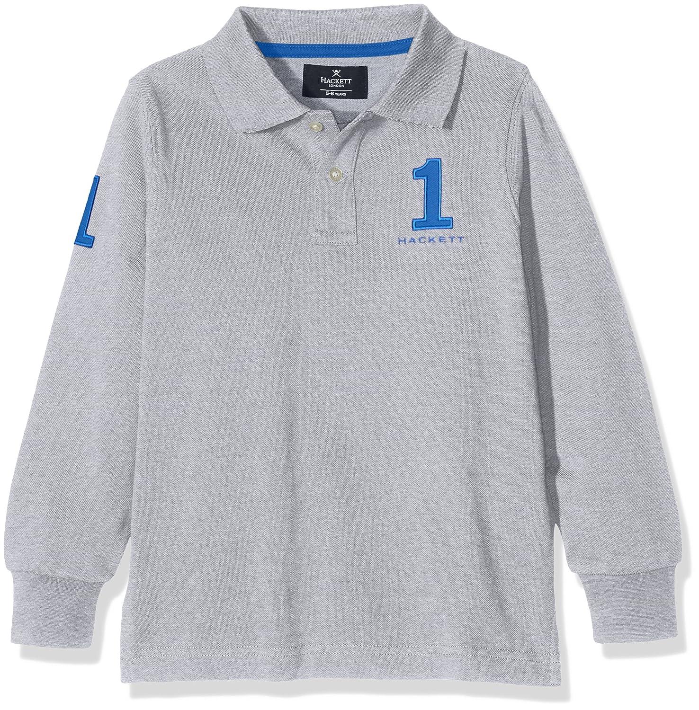 Hackett Clothing New Classic, Polo Niñas, Gris (Grey Marl), Y15(UK ...