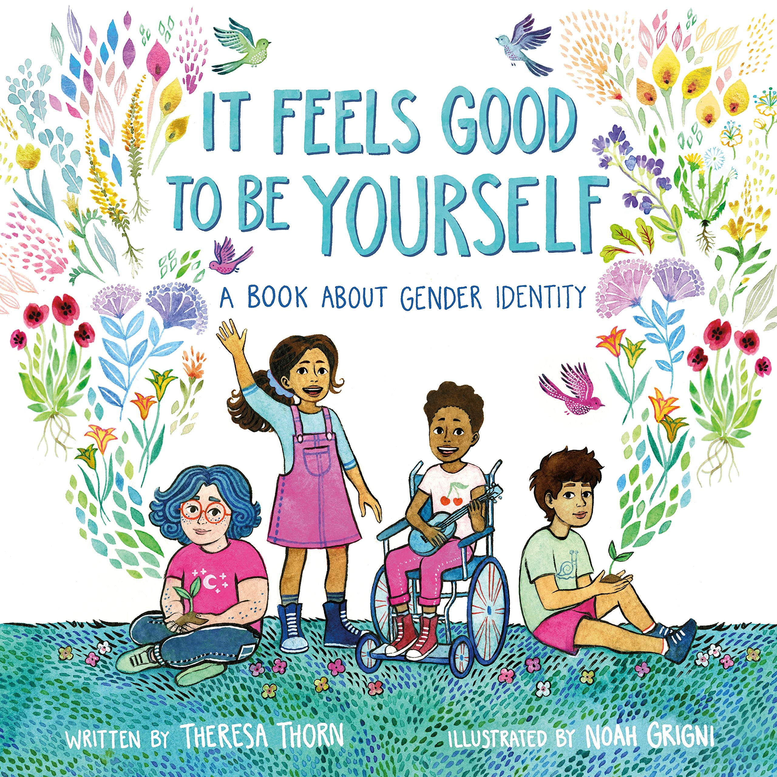 Image result for it feels good to be yourself amazon