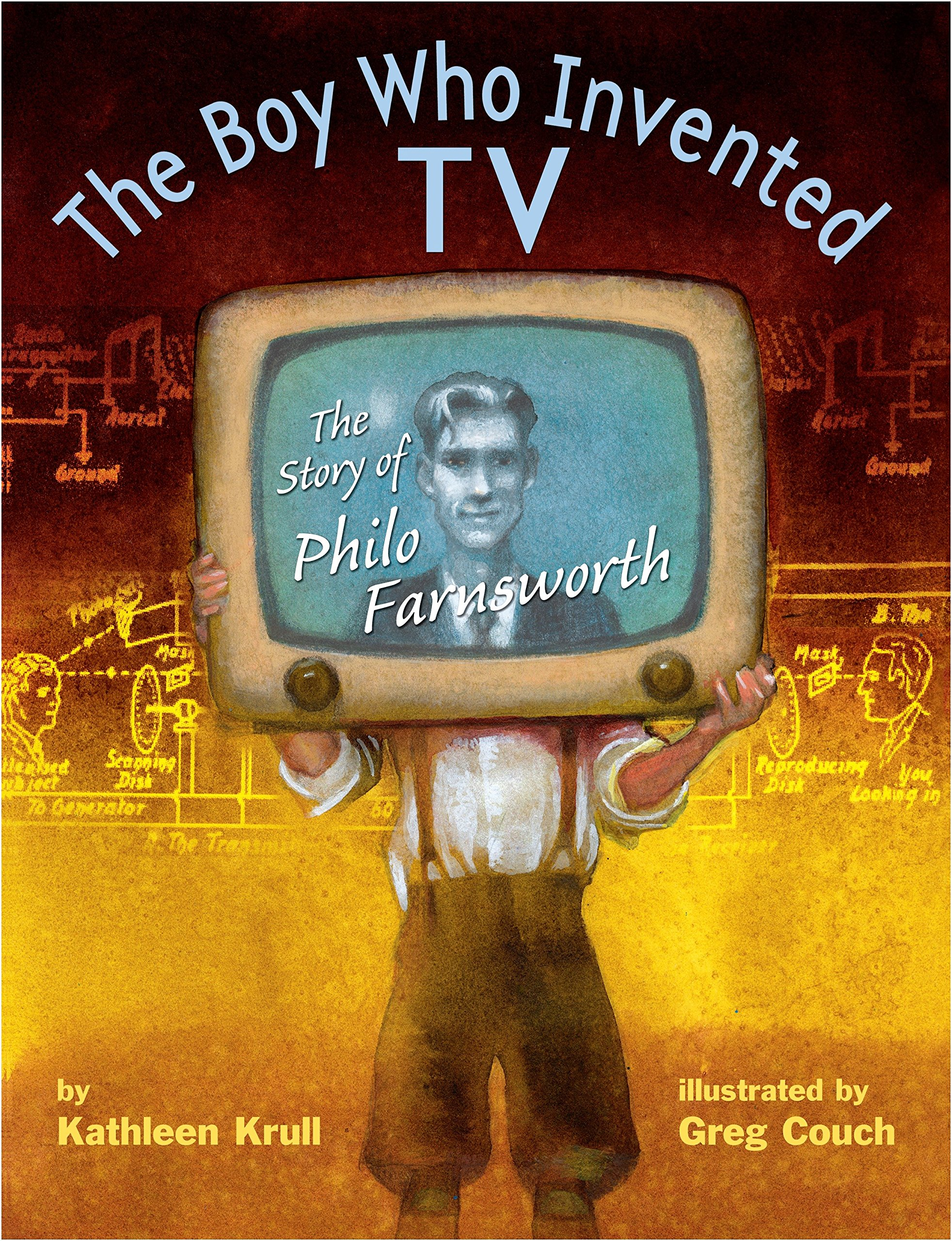 The Boy Who Invented TV: The Story of Philo Farnsworth by Knopf Books for Young Readers (Image #1)