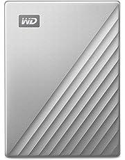 WD My Passport Ultra - Disco Duro Externo para Mac de 4 TB, Preparado para USB-C