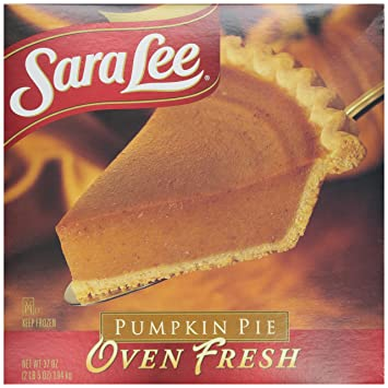 Sara Lee, Oven Fresh Pumpkin Pie, 37 oz (Frozen)