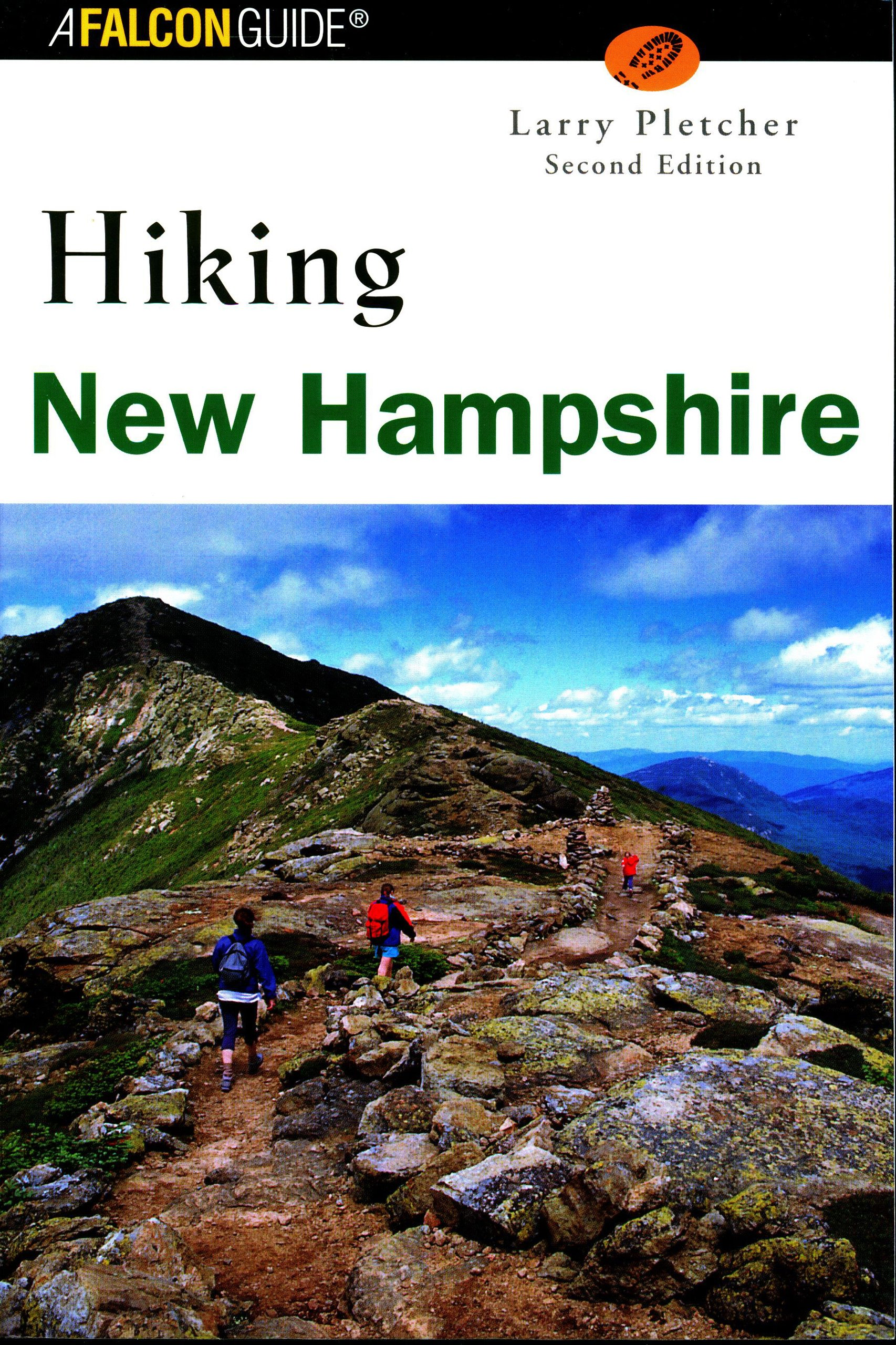 new hampshire hiking maps Hiking New Hampshire 2nd State Hiking Guides Series Pletcher new hampshire hiking maps