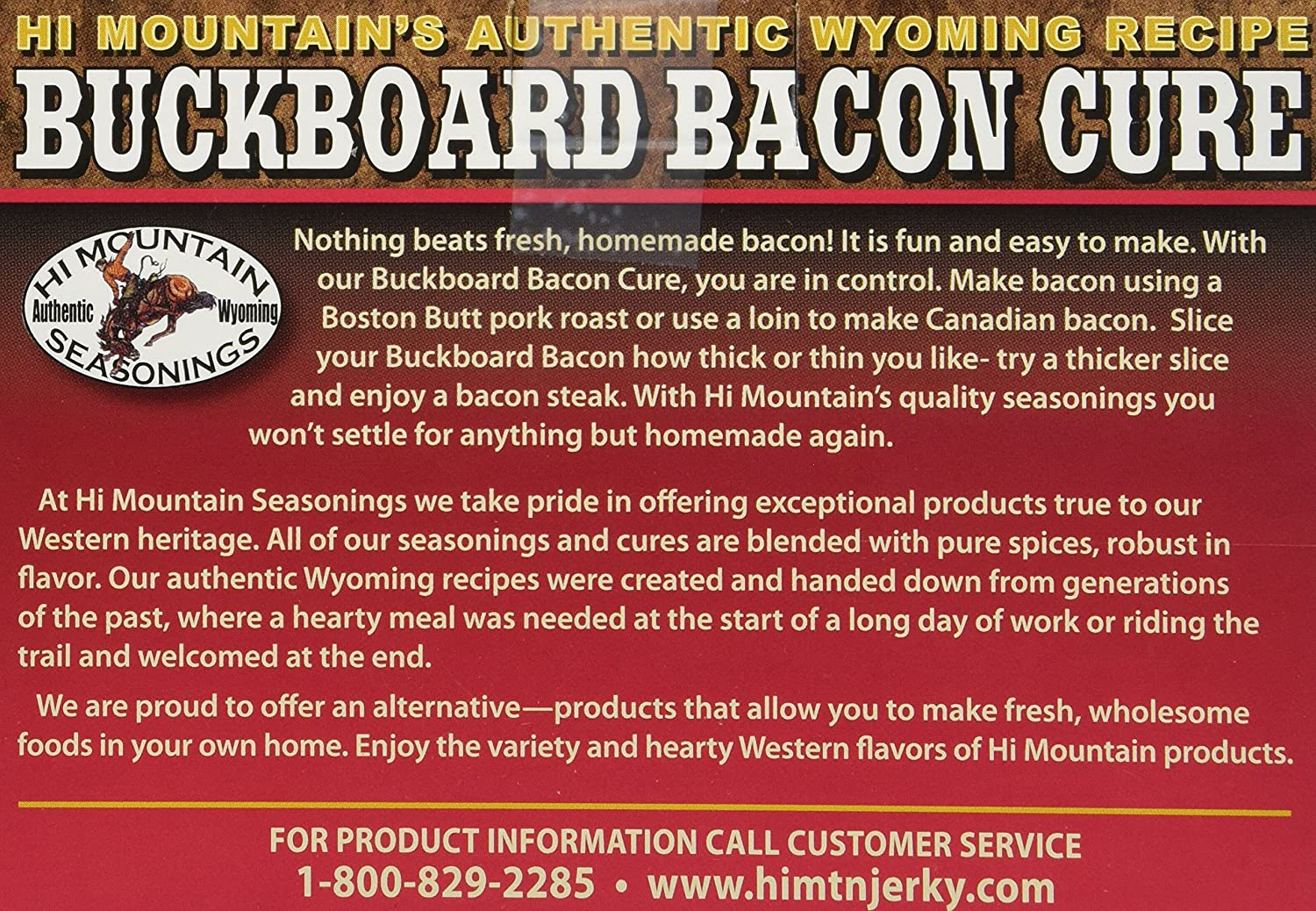 Hi Mountain Buckboard Bacon Cure 16 Oz: Amazon: Grocery & Gourmet Food
