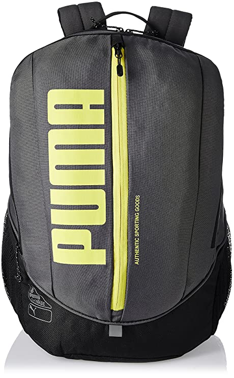 855956735d Puma Deck Sports School College Gym Backpack Rucksack Bag Grey Fluro  Amazon.ca   Sports   Outdoors
