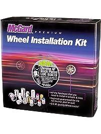 McGard 67200BK Chrome/Black M14 x 1.5 Thread Size Cone Seat Lug Bolt Wheel Installation Kit for 5 Lug Vehicles