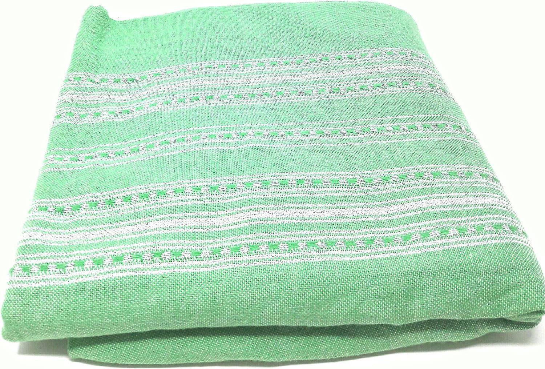 Colcha de cama o sofá,, Plaid, Fouta grande 100% algodón largo.2 ...