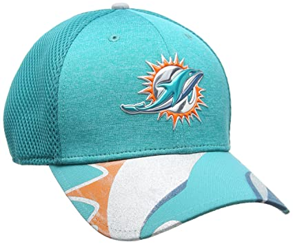 New Era NFL Miami Dolphins 2017 Draft On Stage 39Thirty Stretch Fit Cap b281877dc
