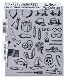 Stampers Anonymous Tim Holtz Cling Rubber Stamp