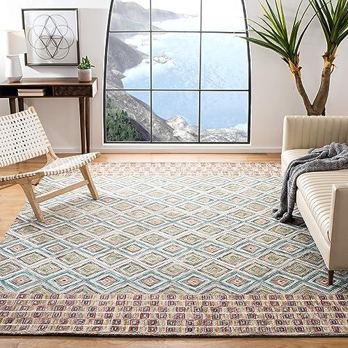 Reviewed: Safavieh Aspen Collection APN812Y Handmade Boho Wool Area Rug