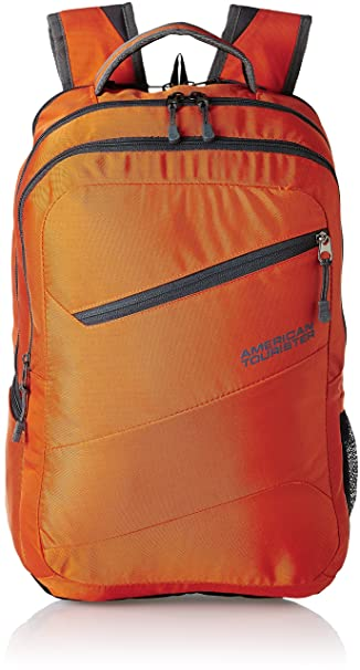 American Tourister Polyester 32 Ltrs Orange Laptop Bag (AMT Buzz 2016 Backpack 08-ORNG)