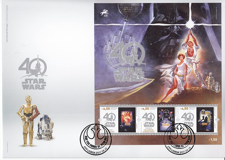 Amazon Com Star Wars 40th Anniversary Collectible Postage