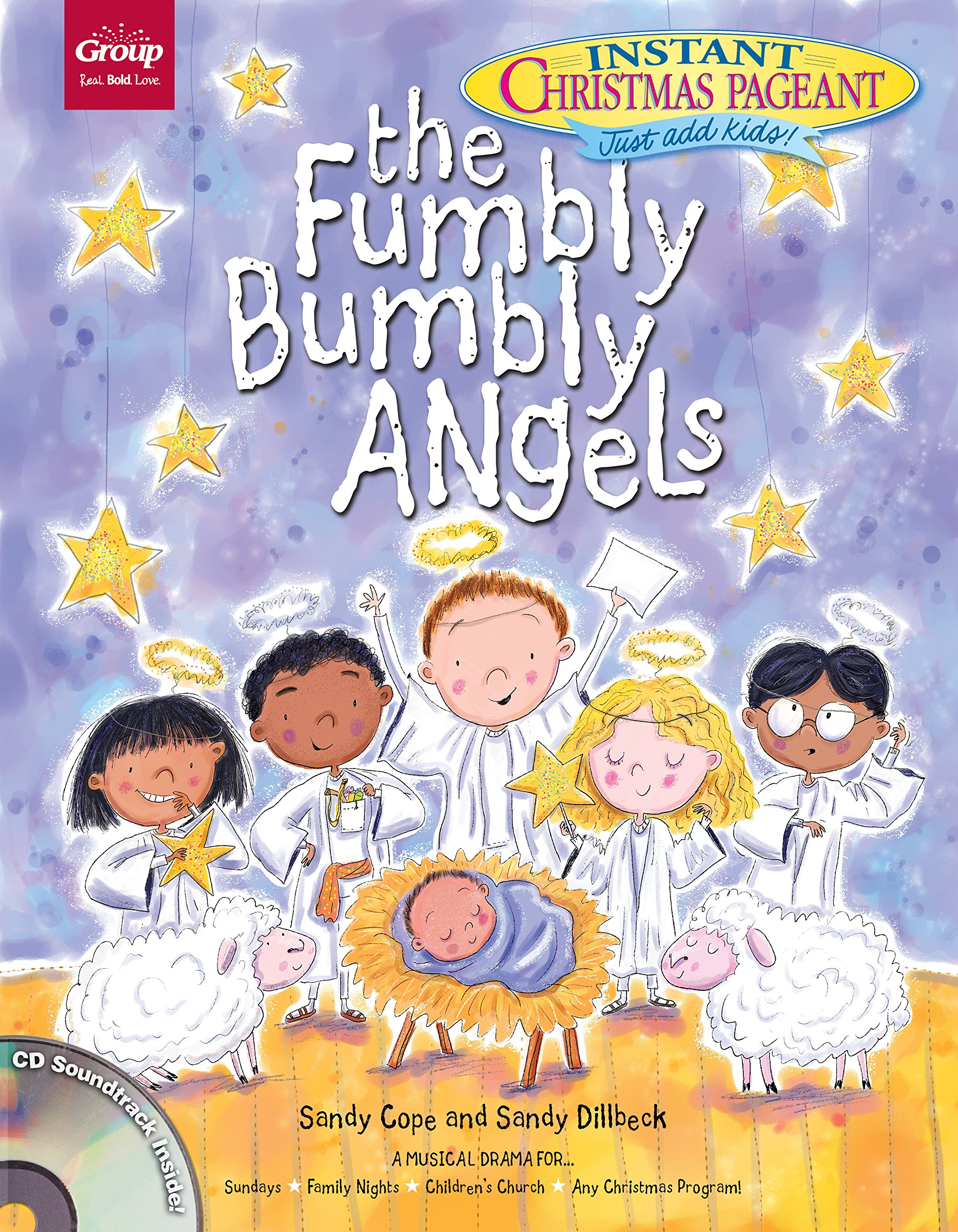 The Fumbly Bumbly Angels: An Instant Christmas Pageant: Sandy Cope ...