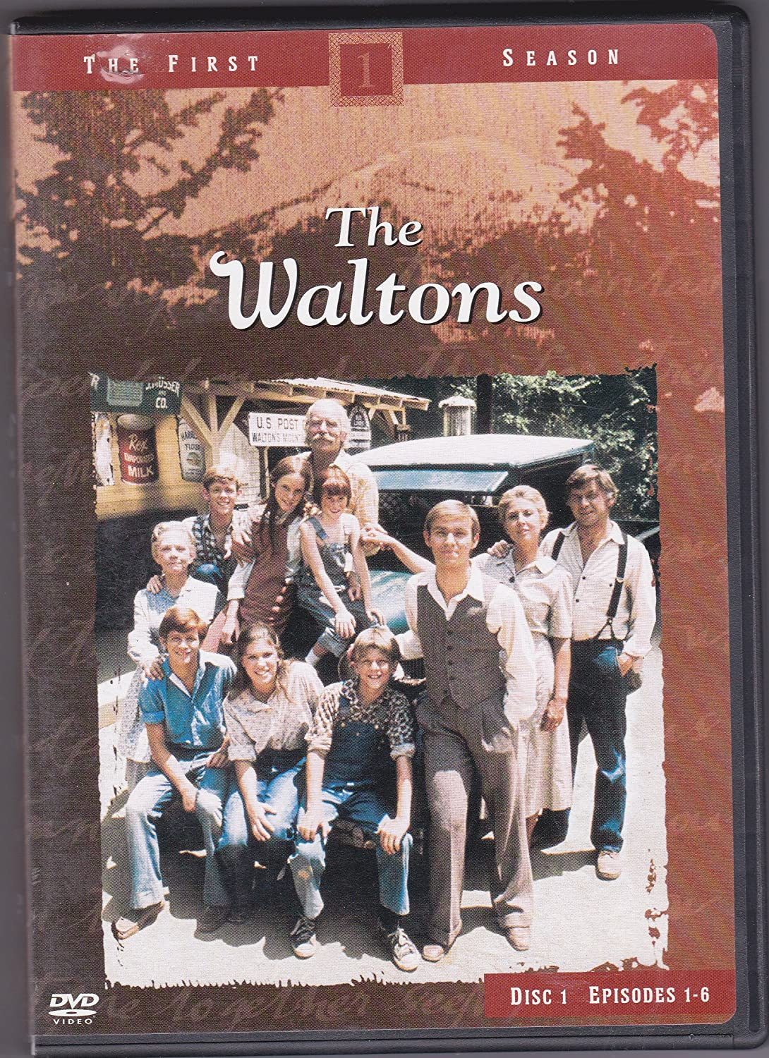The First Season Disc 1 Episodes 1-6 The Waltons