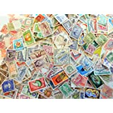 Packet of 1000 different worldwide stamps with older issues.