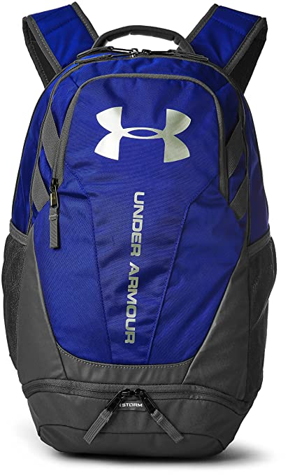 Under Armour UA Hustle 3.0, Mochila Unisex Adulto, Azul (400), 34.5