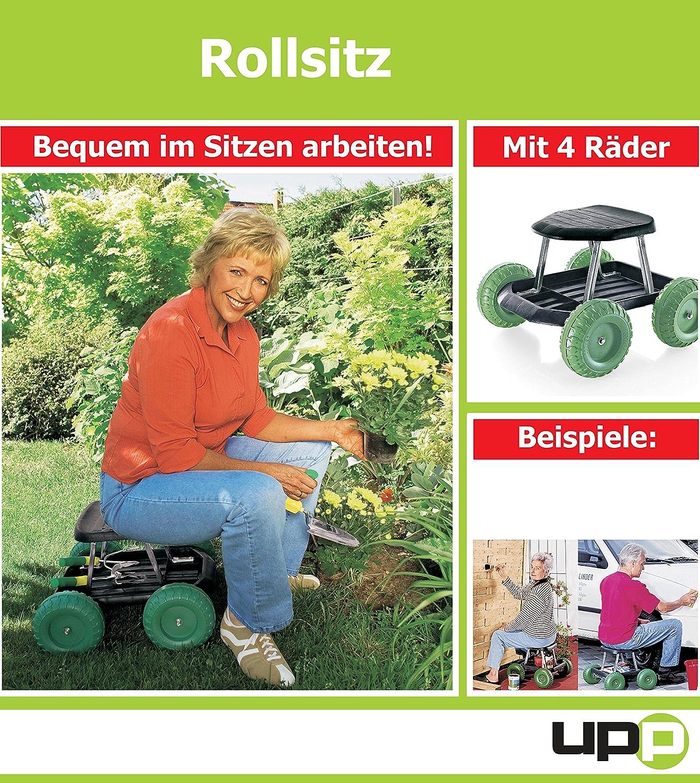 UPP® Rolling Seat/ Garden Trolley/ Trolley/ Garden Helper TRI