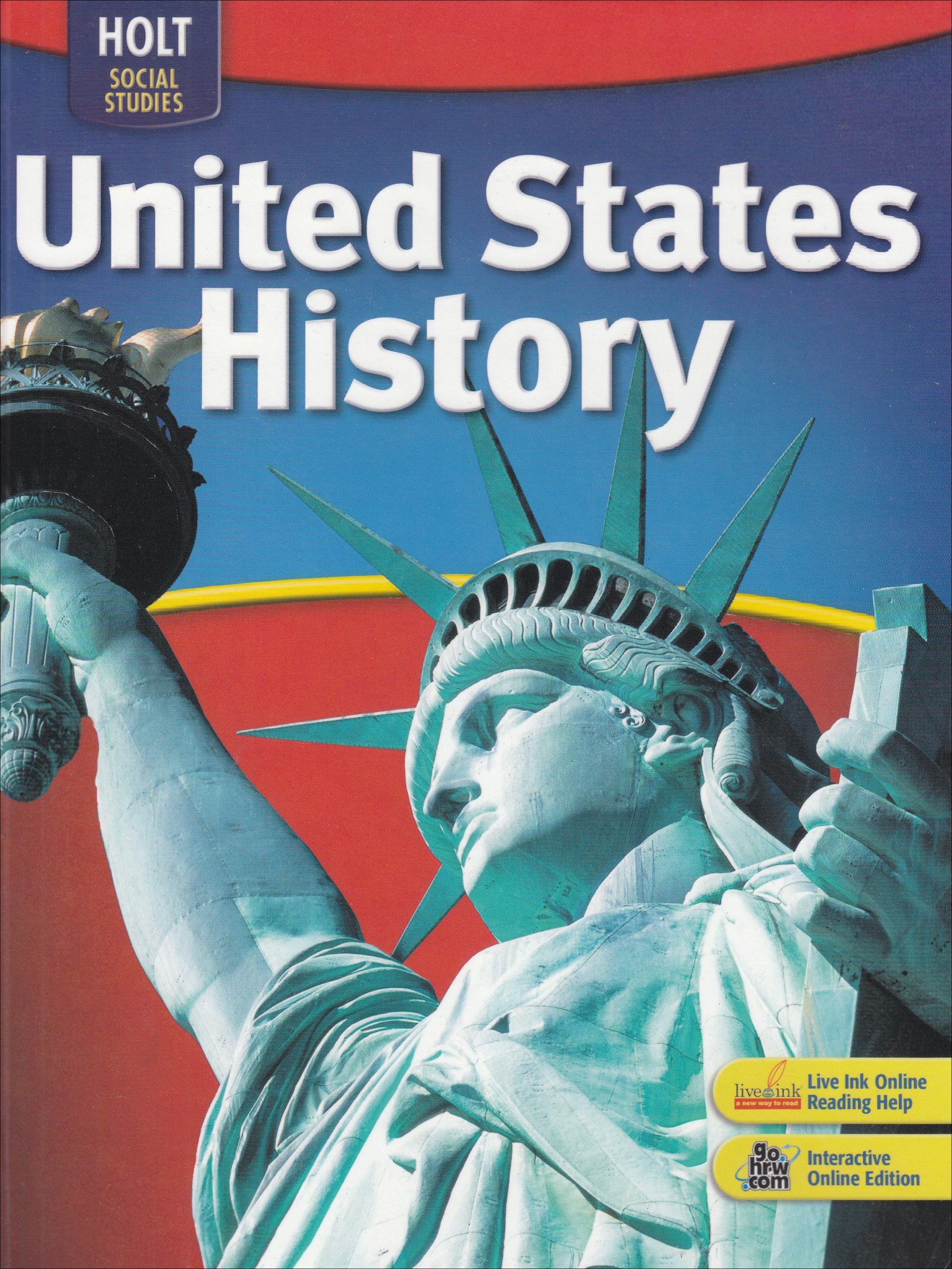 Buy Social Studies, Grades 6-9 United States History: Holt United ...
