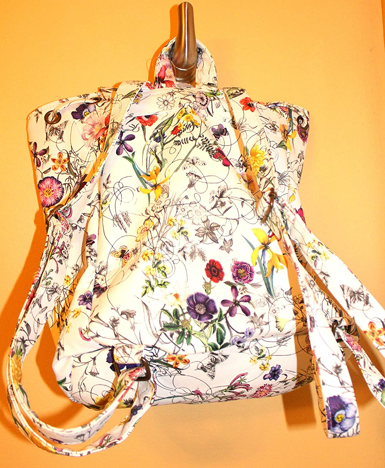Howards Spring Floral Back Pack 13 inches High 5961//5