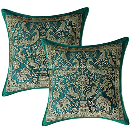 Stylo Culture Indio Brocado Almohadones para Sofa 30x30 cm ...