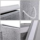 SONGMICS Fabric Double Laundry Hamper Separate