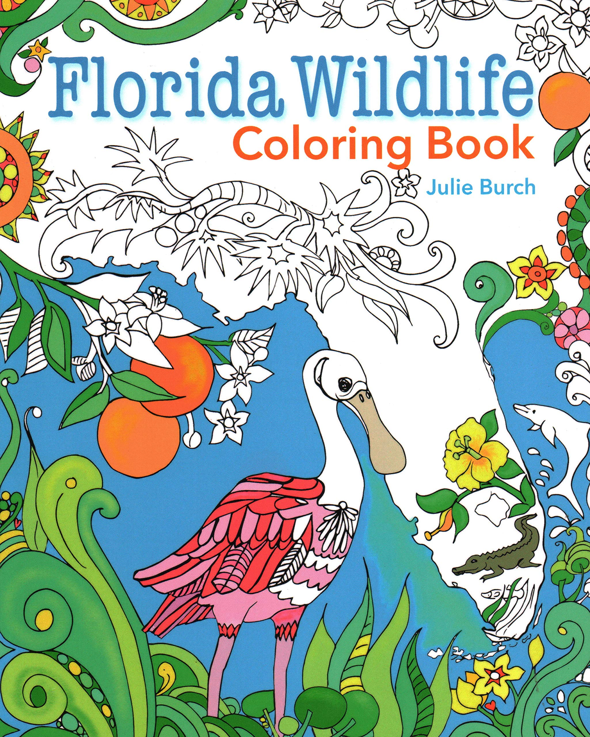 Download Florida Wildlife Coloring Book pdf epub