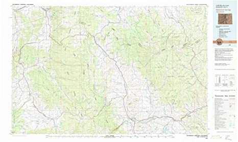 Topographic Map Colorado Springs.Amazon Com Yellowmaps Steamboat Springs Co Topo Map 1 100000