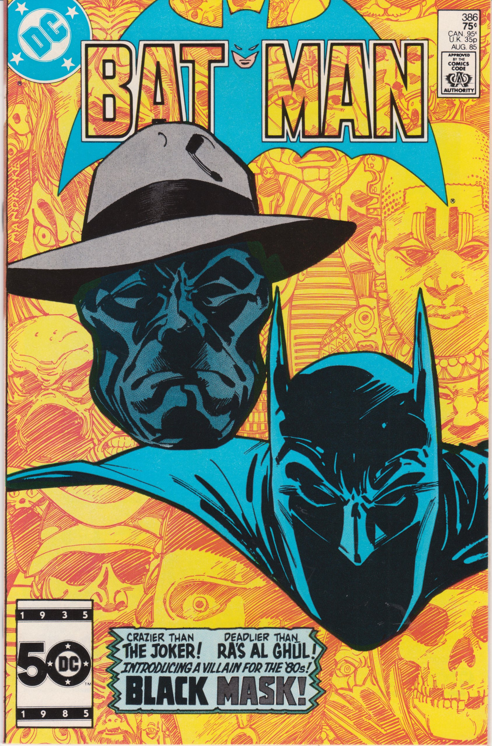1993 Details about  /Black Mask Book One * DC Comics*